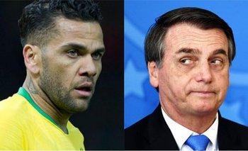 Dani Alves destrozó a Bolsonaro por minimizar el coronavirus | Coronavirus