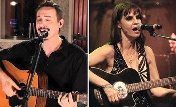 Pedro Aznar y Fabiana Cantilo darán recitales por streaming | Coronavirus
