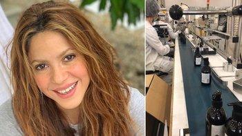 La empresa de perfumes de Shakira fabricará alcohol en gel | Coronavirus