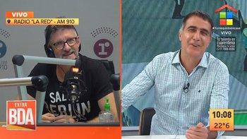 Novaresio confesó un TOC en vivo y Laje se le rió en la cara | Video