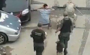 Separan a tres gendarmes por maltratar jóvenes en la 1-11-14 | Represión