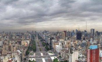Clima: viernes con posibilidad de lluvia en Capital Federal  | Clima