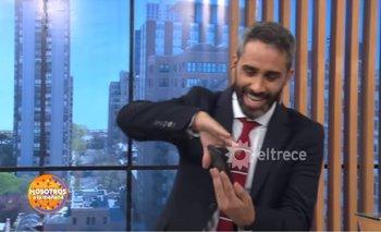 Periodista de El Trece mostró foto de Borghi sin permiso | Televisión