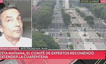 Infectólogo le hizo pasar a TN un mal momento al aire   Coronavirus en argentina