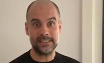 Video: cómo será el post cuarentena para Pep Guardiola  | Coronavirus