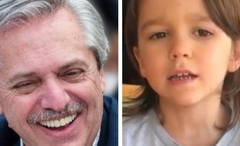 La pregunta del hijo de Residente que hizo reír a Alberto | Coronavirus