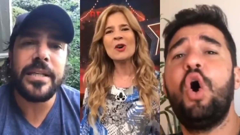 Burlas y memes contra los famosos por un video cantando Imagine