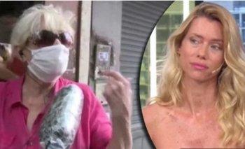 Una jubilada de 87 años cruzó a Nicole Neuman en Canal 13 | Nicole neumann