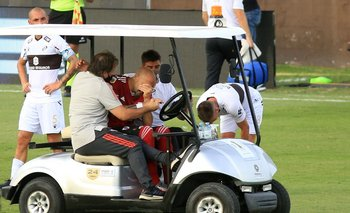 River: la escalofriante lesión de Pinola que preocupa a Marcelo Gallardo   Fútbol
