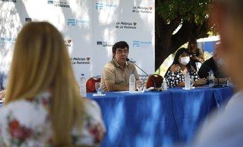 "Fernando Espinoza: ""Seguimos cambiando La Matanza"" | La matanza"