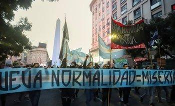 Alberto Fernández cruzó a los banderazos tras las bolsas mortuorias | El discurso de alberto