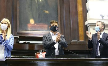 Entre aplausos y una oposición callada: el discurso de Axel Kicillof | Asamblea legislativa