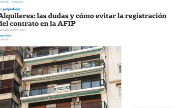 El diario La Nación enseñó cómo evadir impuestos y fue repudiado | La nación