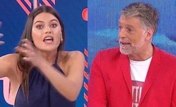 Jujuy Jiménez discutió con Horacio Cabak y se fue del estudio | Televisión