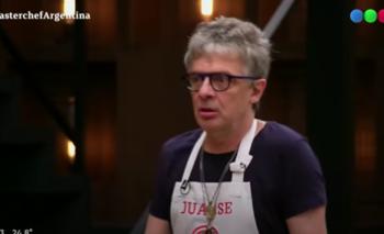Polémica en Masterchef: Juanse acusó al programa de hacer trampa    Masterchef celebrity