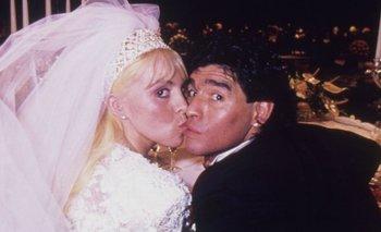 Claudia Villafañe contó qué hizo con su vestido de boda con Maradona | Claudia villafañe