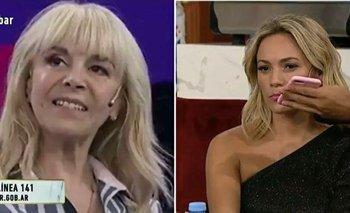 """Fuerte cruce entre Claudia y Rocío Oliva: """"Yo no fui la que no te dejó entrar""""   Murió diego maradona"""
