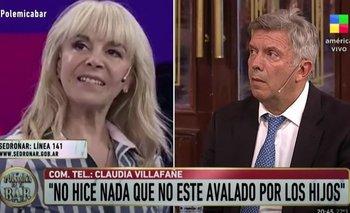 Claudia Villafañe tuvo un tenso cruce con Mauricio D'Alessandro | Claudia villafañe