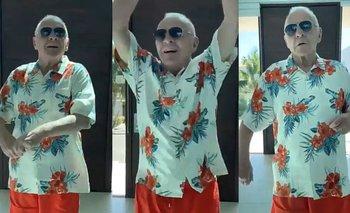 El bailecito de Anthony Hopkins que marca tendencia en redes | En redes