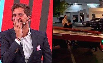 Vignolo se burló de un incidente automovilístico al aire de ESPN   Televisión