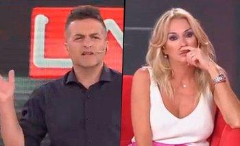"""La picante chicana de Ángel de Brito a Yanina Latorre: """"Si te gusta tanto, quedate allá""""   Los ángeles de la mañana"""