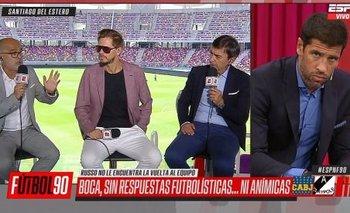 Fuerte cruce entre Sebastián Domínguez y Marcelo Benedetto | Marcelo benedetto
