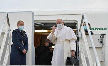 El Papa Francisco llegó a Irak en una visita histórica   Papa francisco