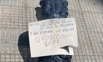 Tiraron bolsas mortuorias en una unidad básica y Alberto enfureció  | Alberto fernández
