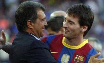 Laporta, presidente del Barcelona: llamado a Messi y las claves para retenerlo | Lionel messi
