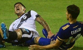 Se conoció la terrible lesión del jugador de Claypole por la patada de Capaldo | Fútbol