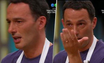 MasterChef: Fernando Carlos y la historia detrás de su llanto desconsolado   Masterchef celebrity