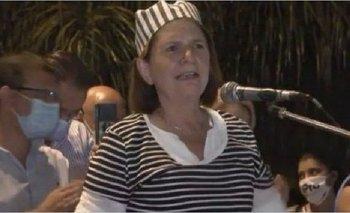 Insólito: Patricia Bullrich se disfrazó de presa en Formosa  | Formosa