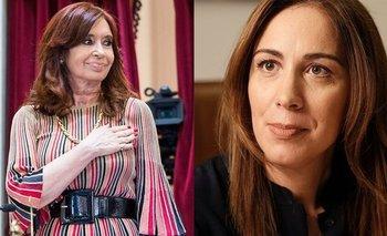 "Vidal atacó a Cristina Kirchner: ""Es un engendro""   Cristina kirchner"
