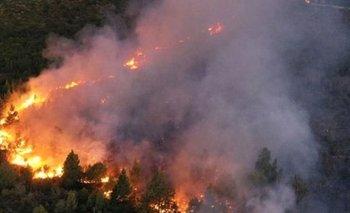 Evacuados y heridos por los incendios en el Sur | Incendio en el bolsón