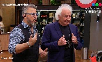Masterchef Celebrity: apareció Cóppola y Alex Caniggia lo trató de mufa   Guillermo coppola