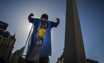 Fanáticos de Maradona se movilizaron al Obelisco para pedir Justicia | Diego maradona