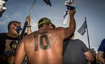 Así fue por dentro la marcha por Diego Maradona en el Obelisco | Marcha por maradona