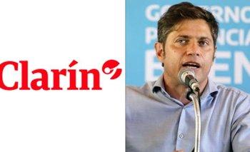 La bochornosa tapa de Clarín para mentir sobre Kicillof y Sarlo | Clarín