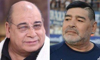 El día que Roly Serrano engañó a 150 suizos haciéndose pasar por Maradona   Televisión