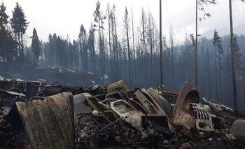 Incendios en El Bolsón: las trágicas imágenes después del fuego | Chubut