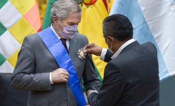 Solá, en Bolivia: mejoras en el vínculo comercial e integración al Mercosur | Visita oficial