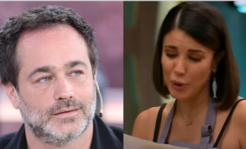 """Te amo infinito"": la carta de Gastón Pauls que emocionó a Andrea Rincón | Masterchef celebrity"