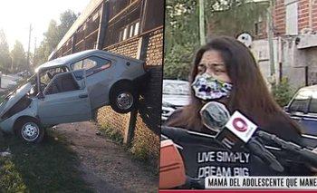 Accidente en González Catán: joven de 14 atropelló, mató y discutieron en vivo | Policiales