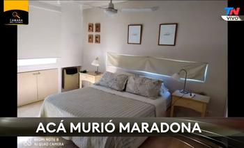 Filtran inédito video de la casa en la que murió Maradona por dentro | Diego maradona