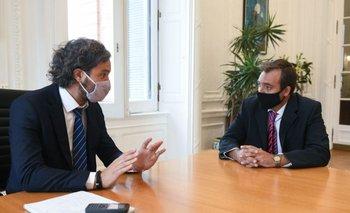 Soria analizó con Cafiero las primeras medidas para el ministerio | Ministro de justicia de la nación