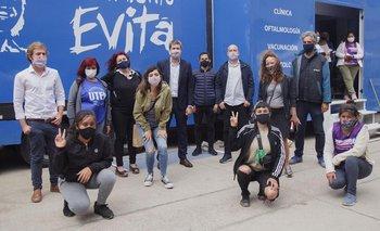 Elecciones 2021: Lammens se apoya en el Evita y refuerza su presencia en Ciudad   ¿será candidato?