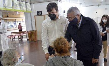 Zamora y Kreplak monitorearon puntos de vacunación contra el Covid | Coronavirus en argentina