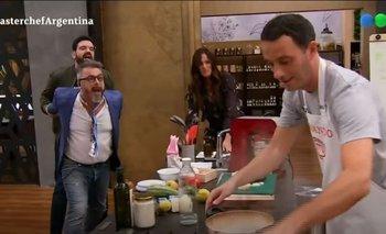 La furia de Donato contra Fernando Carlos por un error imperdonable   Masterchef celebrity