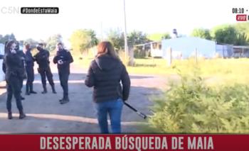 Encontraron a Maia Beloso: el momento en el que la Policía lo confirmó | Caso m