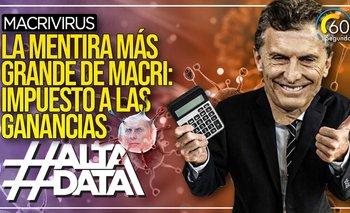 Macrivirus: las mentiras de Macri sobre el Impuesto a las Ganancias cuando fue presidente | Macrivirus